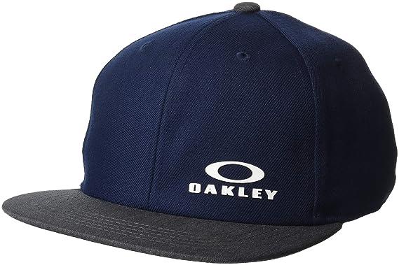 choisir le dernier professionnel de premier plan vaste gamme de Oakley Casquette Snapback BG Fathom (Default, Bleu Fonce ...