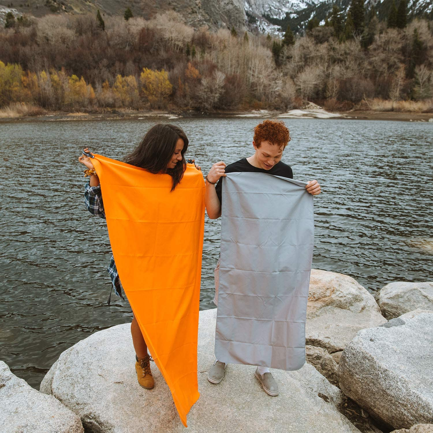 Wildhorn Microlite Travel Towel Set - Microfiber Quick Dry Towel Bundle for Camping, Hiking & Backpacking : Sports & Outdoors