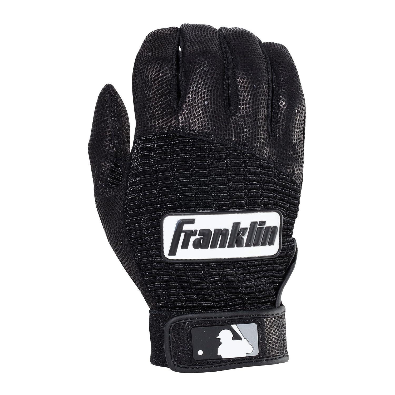 Franklin Sports MLBプロクラシック バッティンググローブ ペア B013LPTS76ブラック/ブラック Small