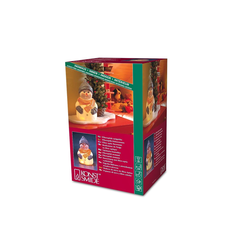 34x40 cm Indoor Konstsmide 6100-003 LED Acryl Rentier 32 kalt weiße Dioden