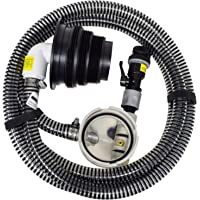 "Valterra 10-Foot Sewer Solution Kit, Universal Sewer Hose for RV Camper, Includes one 10' drain hose (OD 1.1""), pump…"