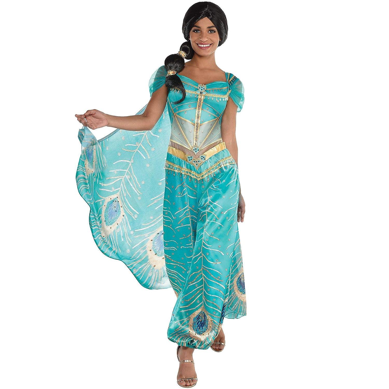 Party City Jasmine Disfraz de Halloween para Mujer, Aladdin Live ...