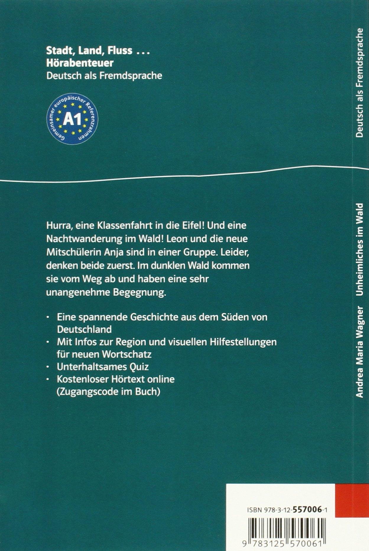 Unheimliches im Wald - Buch & Audio-online: Andrea Maria Wagner ...