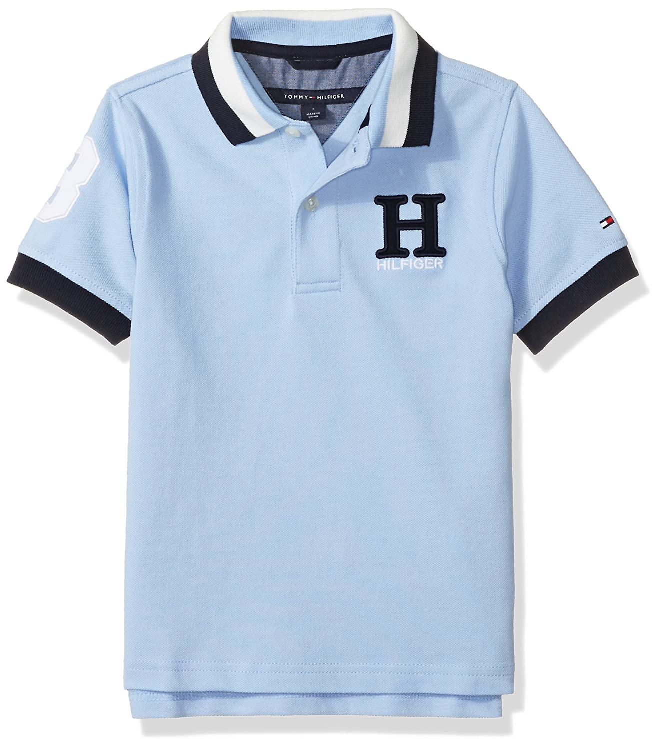 Tommy Hilfiger Boys' Short Sleeve Solid Matt Polo Shirt -