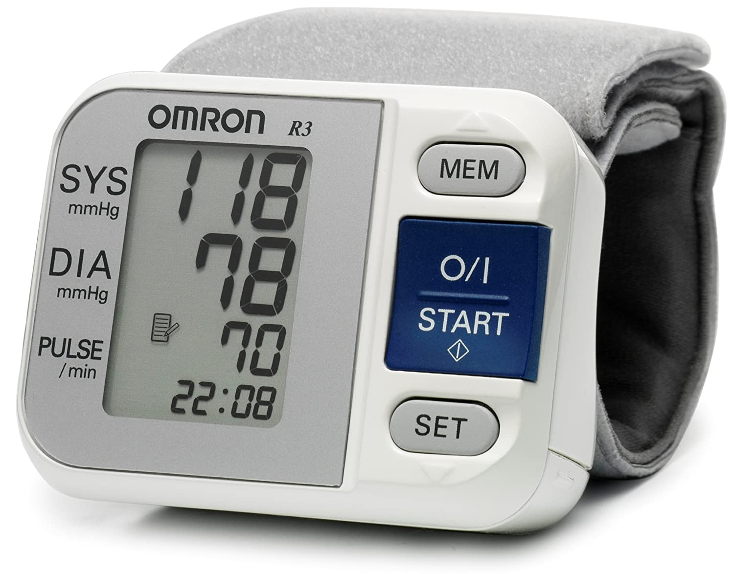 Amazon.com: Omron R3 Wrist Blood Pressure Monitor: Health ...