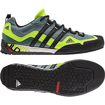 online store d4330 b8b00 adidas Outdoor Terrex Swift Solo Approach Shoe - Men s University Red Black  Lead 6.5  Amazon.ca  Sports   Outdoors