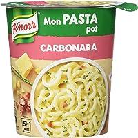 Knorr Pâtes Carbonara Repas Express Portion Individuelle (Lot de 4x71g)