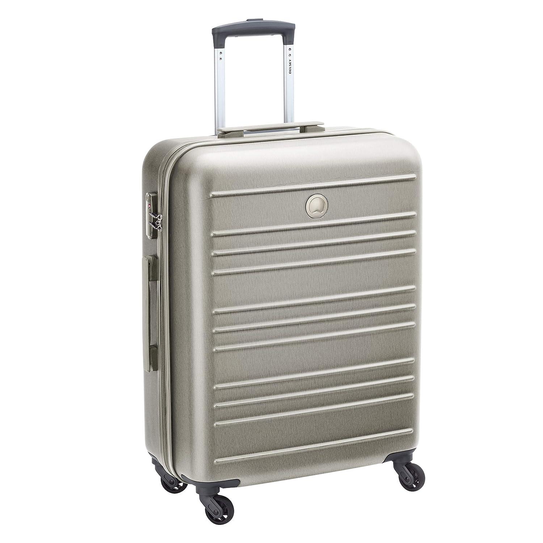 DELSEY Paris Carlitスーツケース、66 cm、80リットル、ゴールド(Brosse d'Or) B07C3NTGJD