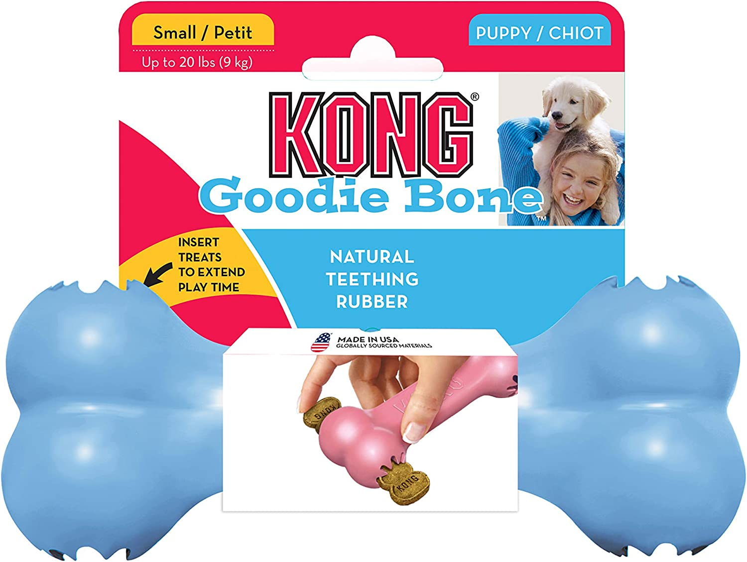 Fever Kong Goodie Bone Puppy Small