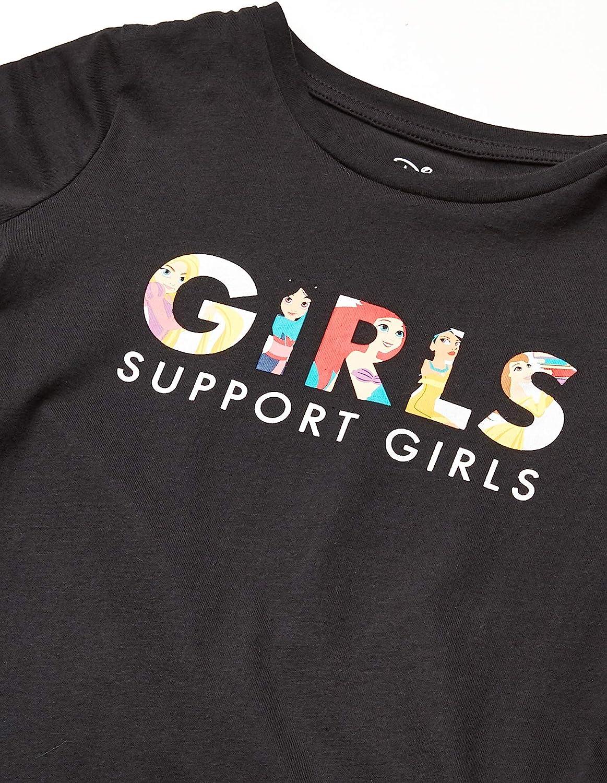 Spotted Zebra Toddler Girls Star Wars 4-Pack Short-Sleeve T-Shirts