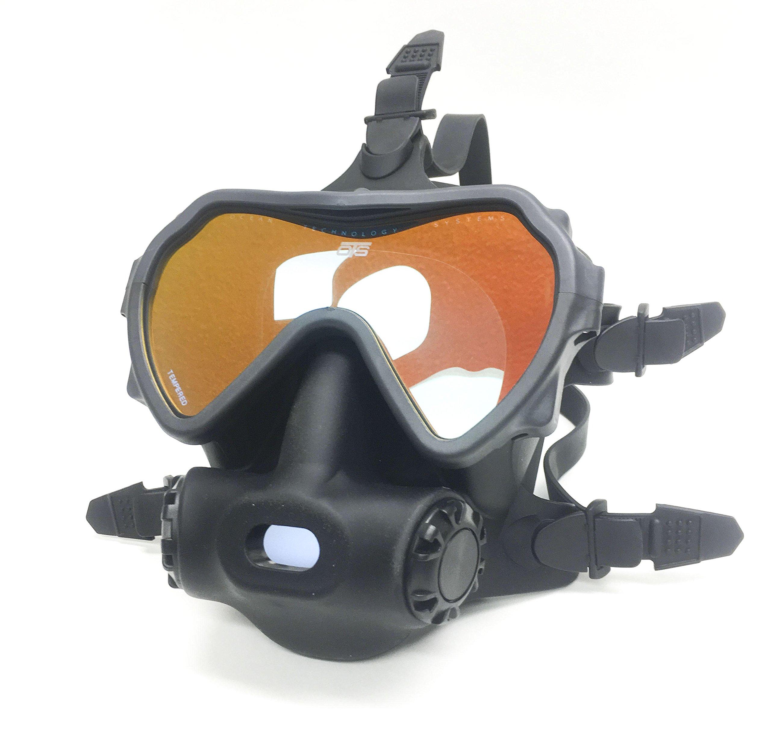 OTS Spectrum Full Face Mask, Black Tinted Lens by OTS