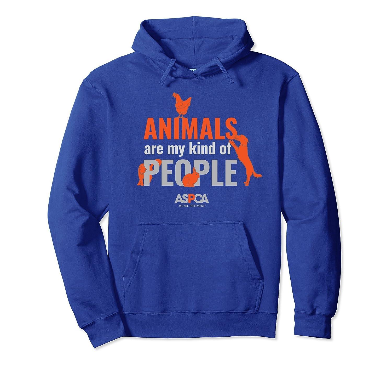 ASPCA Animals Are My Kind of People Hoodie-mt