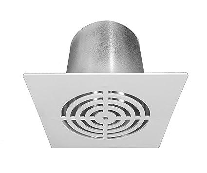 Rejilla ventilación aire caliente radiador pellets Canalización de rejilla de ventilación