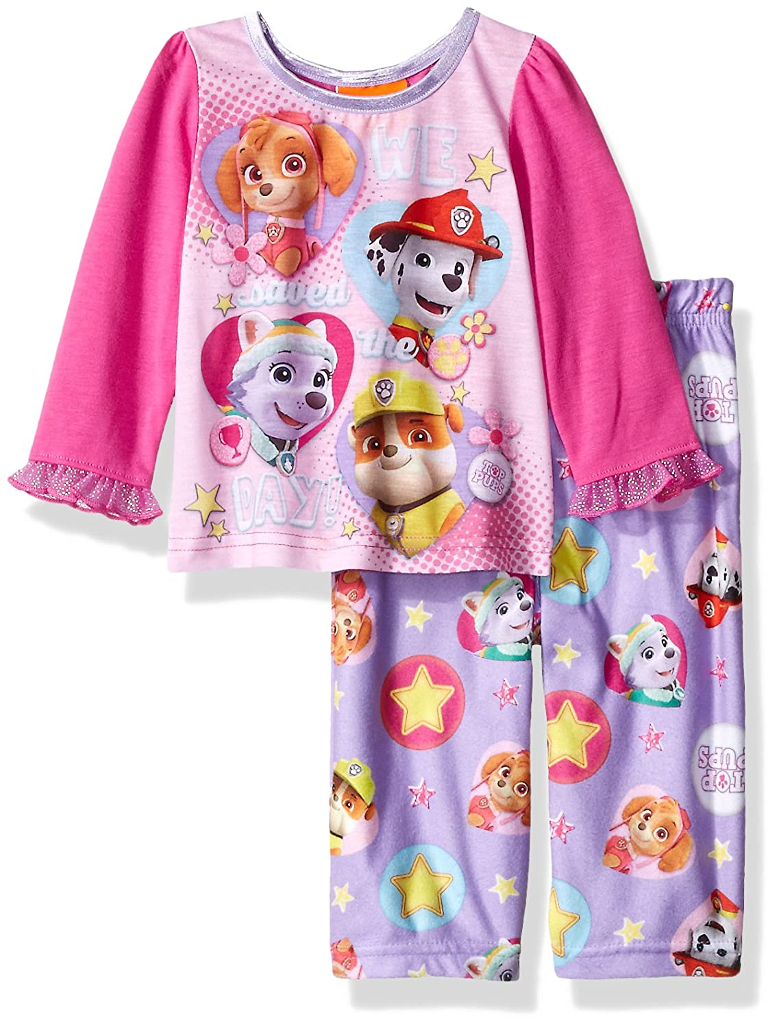 Cotrio Toddler Boys Kids Pajamas Cartoon 2 Piece Sleepwear Pjs Sets Home Wear Clothes Long Sleeve Outfit