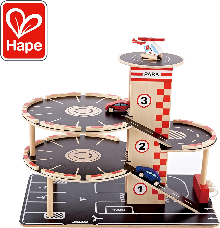 Hape - Garaje de juguete (HAP-E3002) [Importado] , color/modelo surtido
