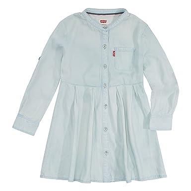 178e177bd681 Amazon.com  Levi s Girls  Long Sleeve Western Dress  Clothing