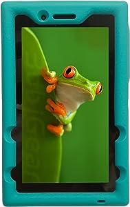 Bobj Rugged Case for Lenovo Tab 3 Essential TB3-710F TB3-710I (NOT for Tab 7 Essential TB-7304F or Any Other Lenovo Model) - BobjGear - Venting - Sound Amplification - Kid Friendly (Turquoise)