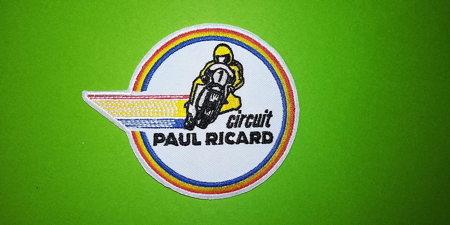 A590 PATCH ECUSSON CIRCUIT PAUL RICARD MOTO 10*8 CM