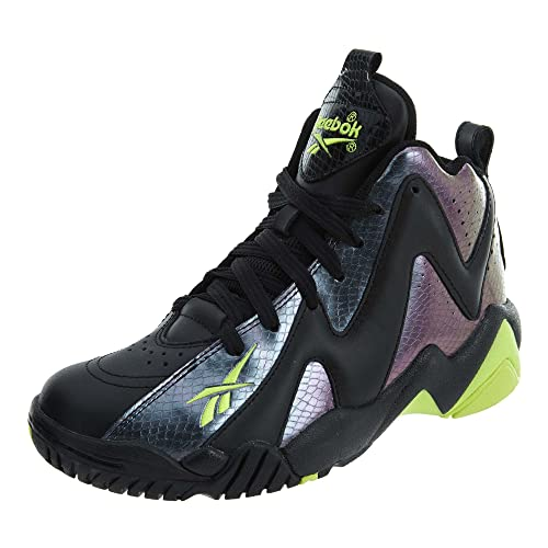 Reebok Kamikaze II Mid (Youth GS) (Nocturnal in Nocturnal Yellow 7afeac57f
