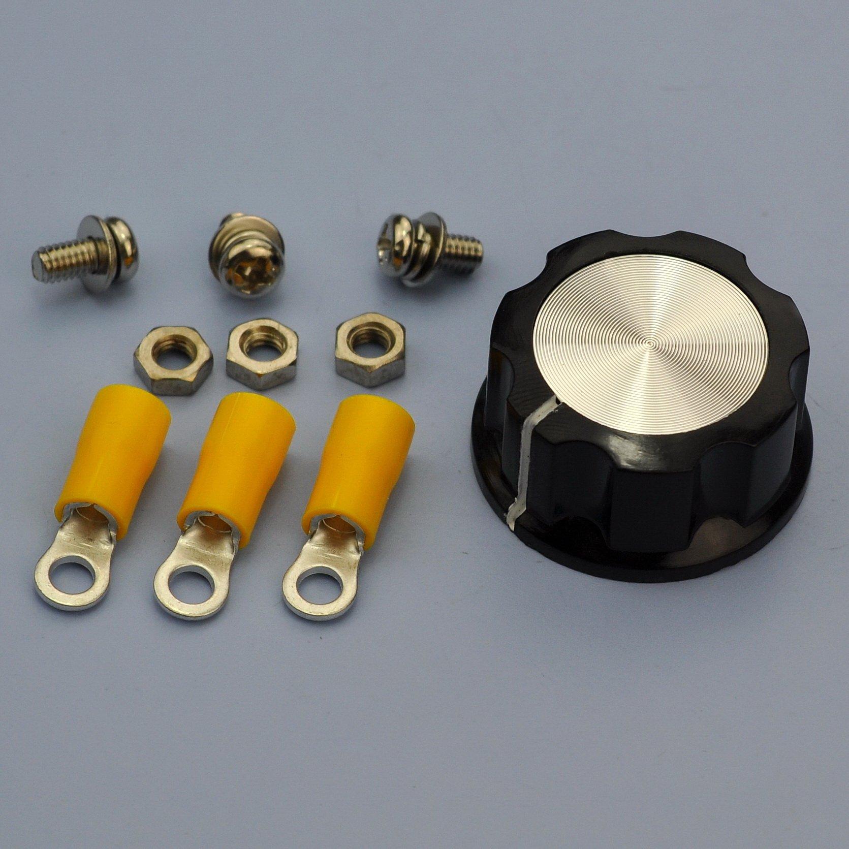Electronics-Salon 100W 50 OHM High Power Wirewound Potentiometer, Rheostat, Variable Resistor. by Electronics-Salon (Image #6)