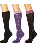 Noble Mount Womens Soft Premium Knee Hi Socks - 3 Pairs