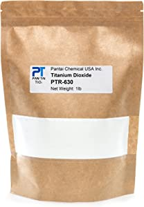 Titanium Dioxide   Cosmetic Grade   Soap Making, Crafts, Paints and Pigment Colorant   Resealable Pouch   PTR-630 (16 oz)