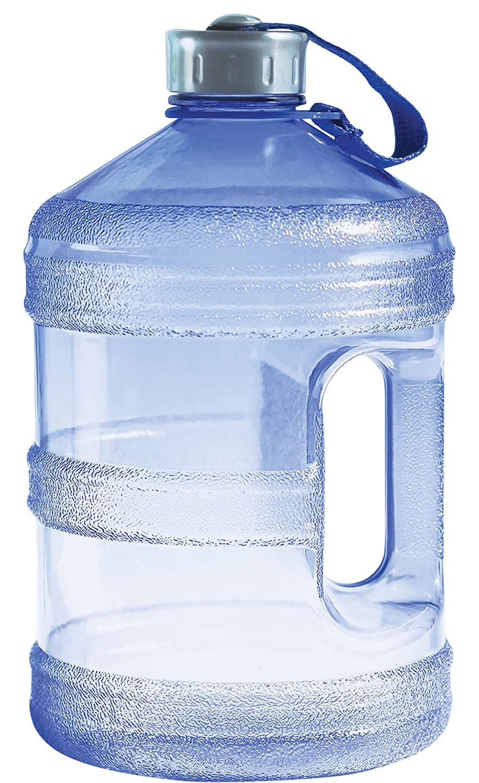 97296e813f64 New Wave Enviro BpA Free 1 Gallon Water Bottle (Round)