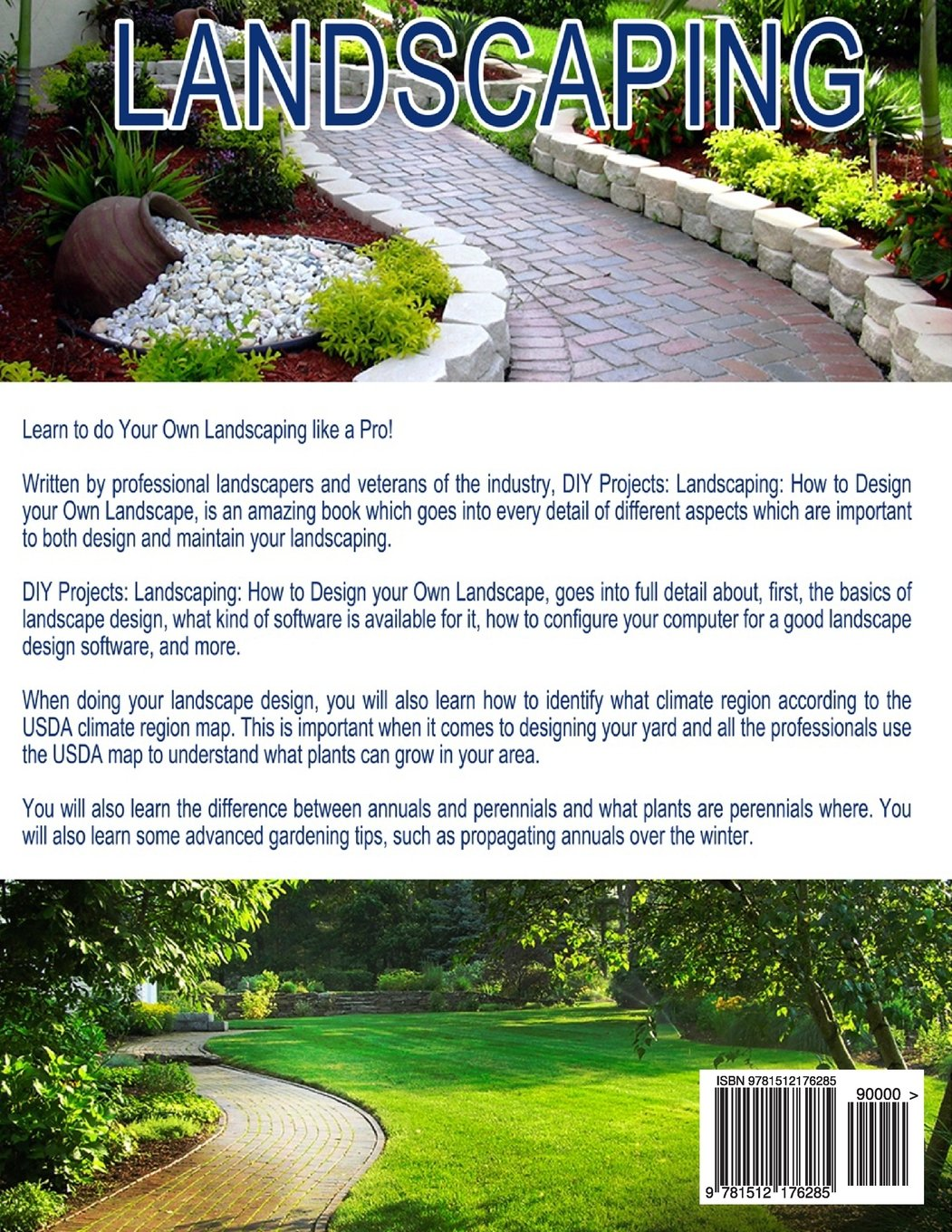 DIY Projects: Landscaping: How To Design Your Own Landscape: Johannes  Poulard: 9781512176285: Amazon.com: Books