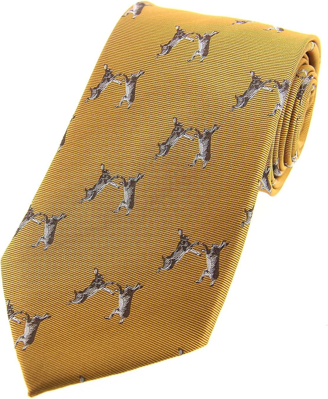 Soprano - Corbata de seda de color dorado: Amazon.es: Ropa y ...