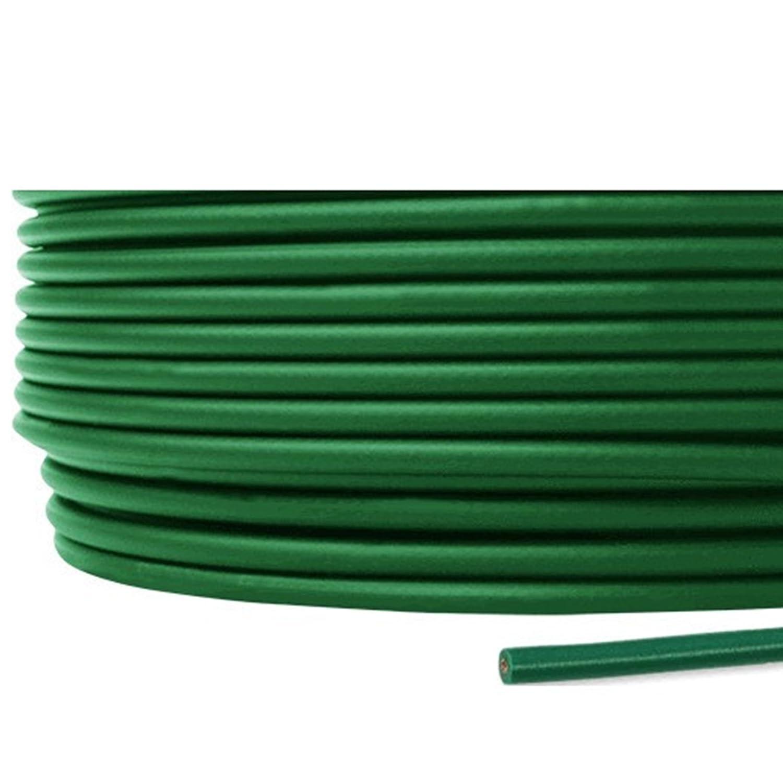 フジクラ IV 1.2mm 600V耐圧ケーブル 単線 緑 ビニル絶縁電線 300m 1巻 SD B06XRPCQ5S