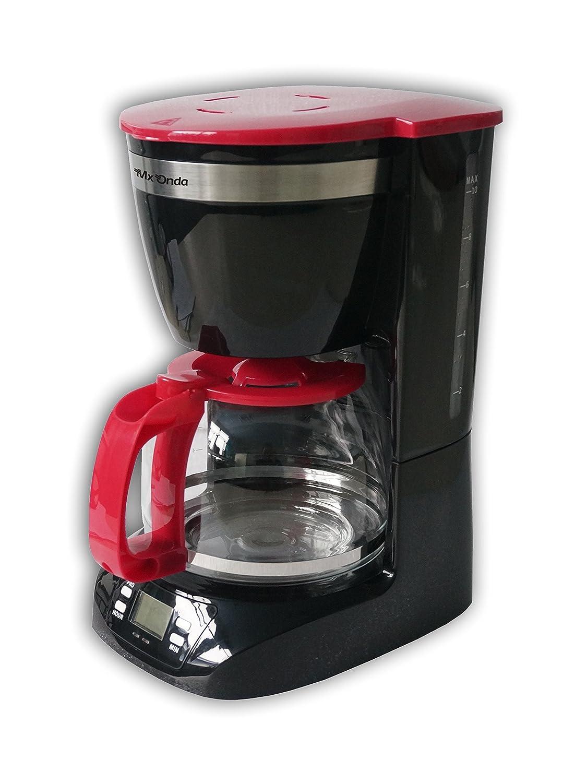 Mx Onda MX-CE2258 Macchina per il caffè con timer, colore: nero [Classe di efficienza energetica A+++]