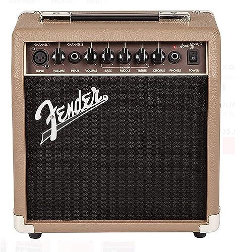 Fender - Amplificador guitarra acoustasonic 15 w - instrumentos ...