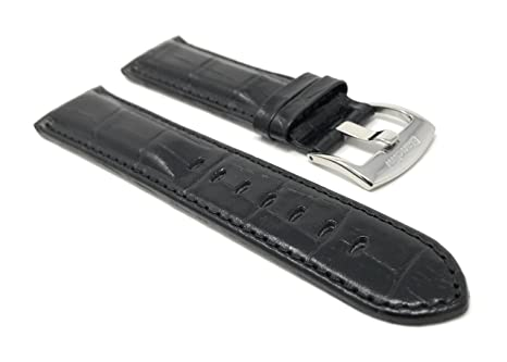 Amazon.com: 20mm Alligator Pattern Smartwatch Band Strap ...