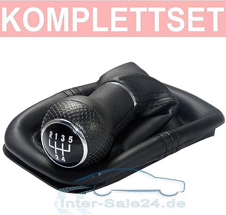 L/&P A263-6 soufflet Levier de vitesse Pommeau la coiffe de cuirette avec cadre piece de rechange nombre 1t0711113 et 2K0711113