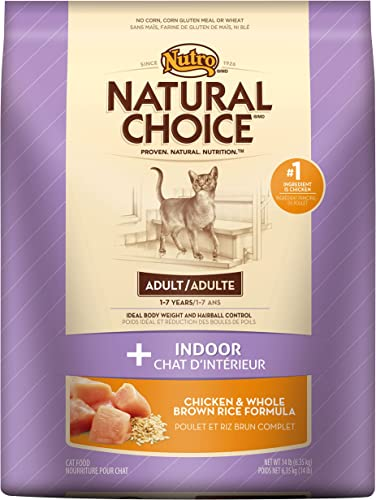 Nutro Natural Choice Adult Indoor Dry Cat Food