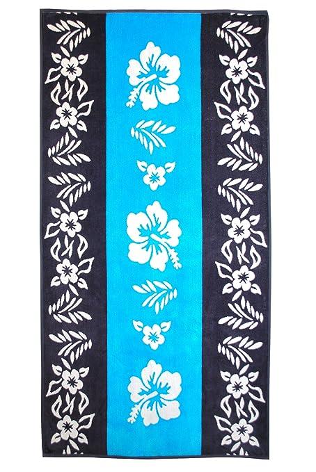 Superior - Toallas de Playa Jacquard, lujosas, de algodón Peinado, con diseño de