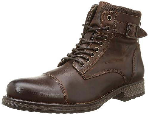 Cuero amp; Leather De Jjalbany Jones Botas Brown Boot Jack Stone zqwgfz