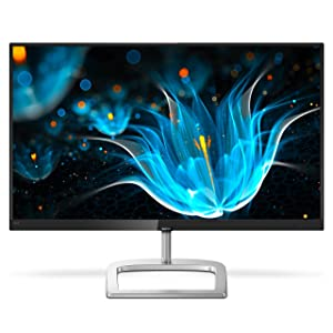 "Philips 246E9QDSB 24"" Frameless Monitor, Full HD IPS, 75Hz, 129% sRGB & 108% NTSC, FreeSync, HDMI/DVI-D/VGA, VESA"