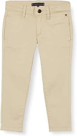 Tommy Hilfiger Essential Skinny Chino TH Flex Pantalones para Niños