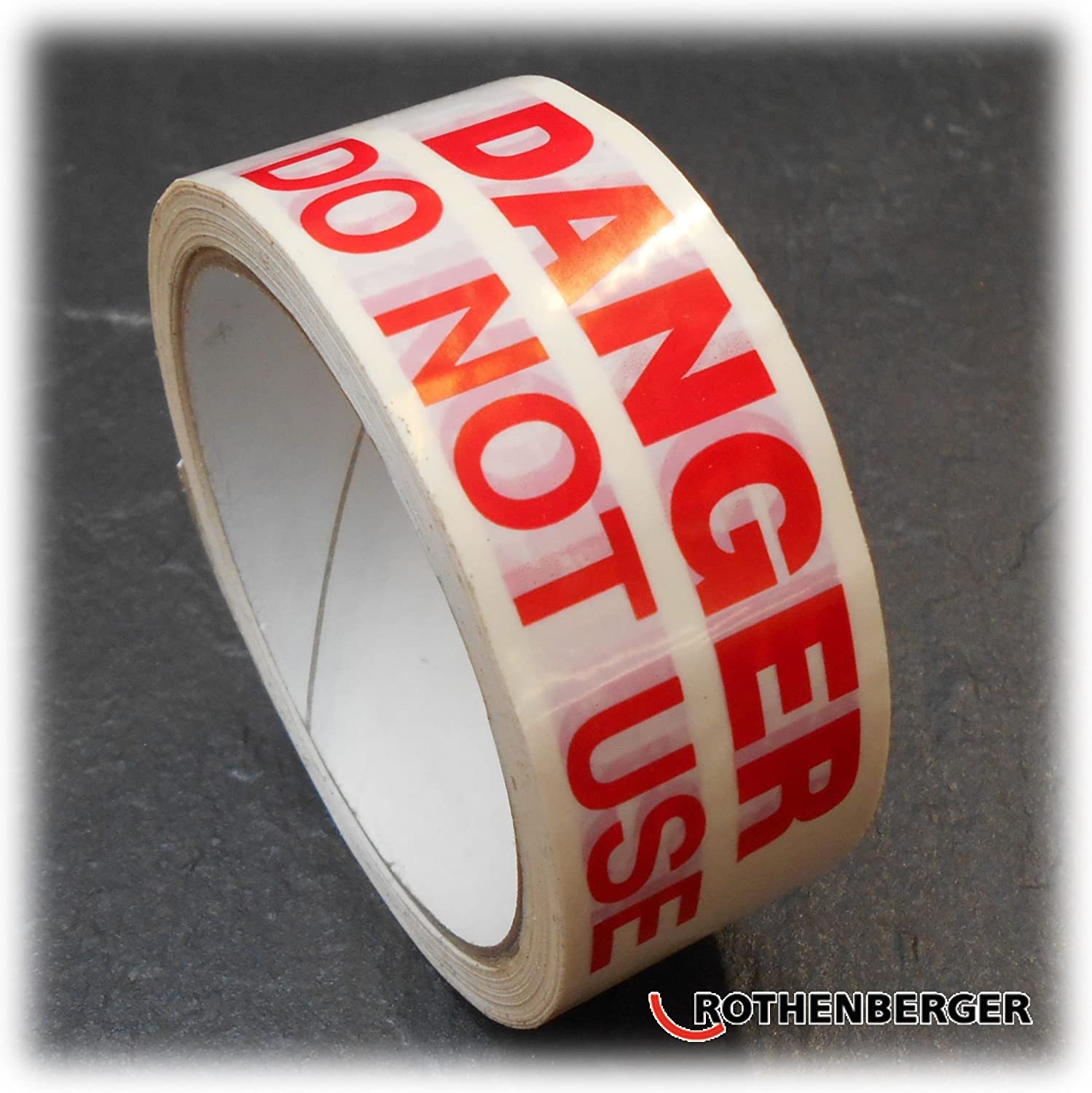 Rothenberger Danger Do Not Use Appliance Safety Identity Tape 6.7083
