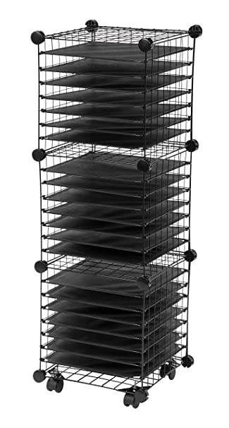 Amazon Iris Scrapbook Organizer Cart Home Kitchen