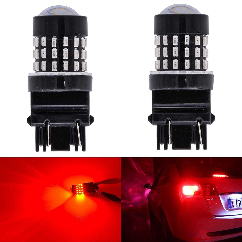 Confezione da 2 KaTur 1156 BA15S 7506 1073 1095 1141 Lampadina a LED 3014 54 Chipset 650 Lumens per Segnale di Direzione Back Up Reverse Brake Tail Stop Parking Luci RV Ambra