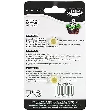Amazon Com Jem Cutters 1102ep009 Pop It Usa Football Cupcake Topper