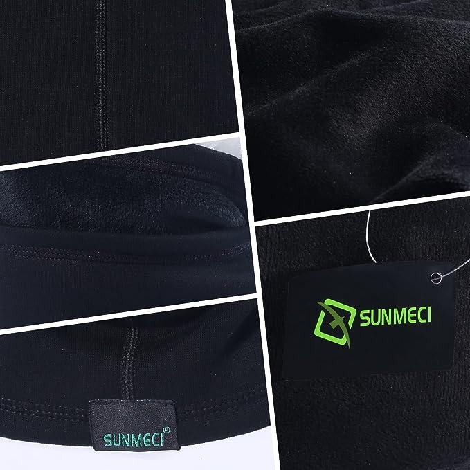 469ae746f sunmeci Cubre cuello térmico multipropósito resistente al viento, negro,  SMC-AA-Y: Amazon.com.mx: Deportes y Aire Libre