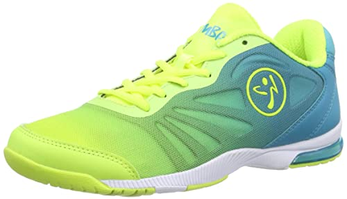 Zumba Footwear Zumba Impact Pulse, Zapatillas de Gimnasia para Mujer, Turquesa (Turquoise/Neon Yellow), 35.5 EU: Amazon.es: Zapatos y complementos