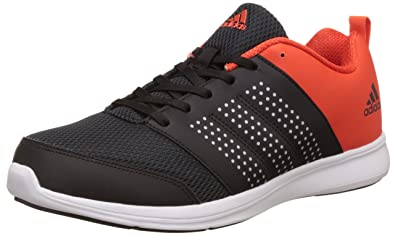 adidas Men's Adispree M Black, Metsil and Energy Running Shoes - 10 UK/India