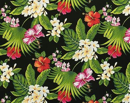 Hawaiian Print Cotton Fabric Trendtex Fabrics