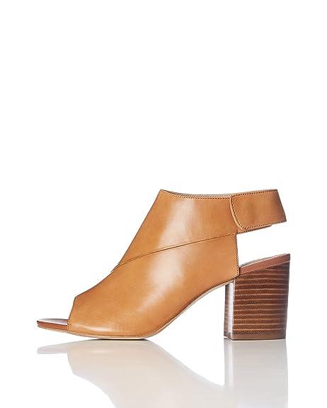 FIND Sandalias de Punta Descubierta para Mujer  Amazon.es  Zapatos y  complementos c94760e4be47
