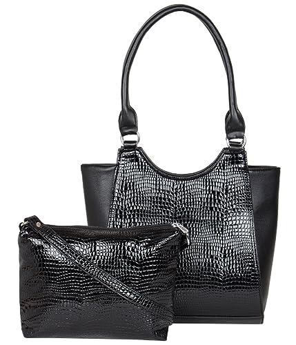ADISA AD4006 women handbag with sling bag combo