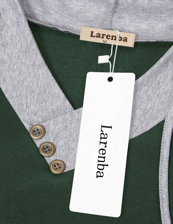 Larenba Womens Maternity Nursing Hoodie Sweatshirt with Pocket